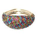Multi Colored Crystal Bracelet