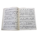 Music, printed or in manuscript, whether or not bound or illustrated