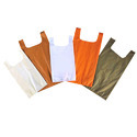 Sacks and bags, for the packing of goods, of man-made textile materials