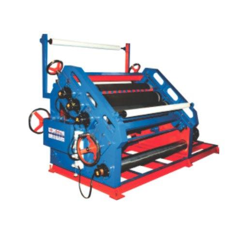 Oblique Type Single Face Paper Corrugation Machine