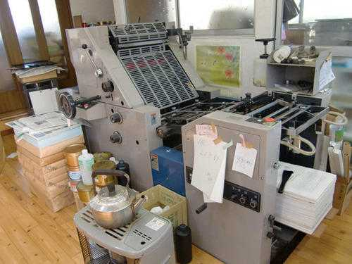 Offset Printers For Paper Roll