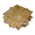Waferboard and similar board, of wood, whether or not agglomerated with resins or other organic binding substances