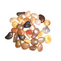 Pebbles and gravel for concrete aggregates, for road metalling or for railway or other ballast, shingle and flint, whether or not heat-treated