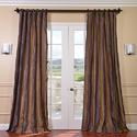 Curtains, incl. drapes, and interior blinds, curtain or bed valances of synthetic fibres, knitted or crocheted