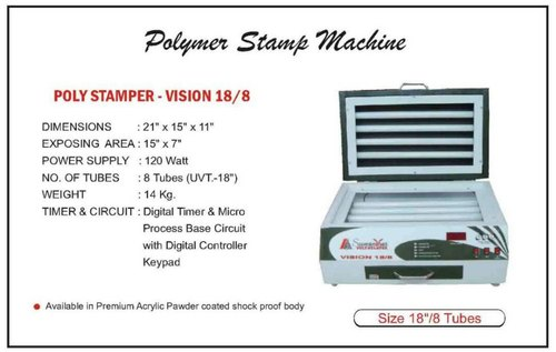 Polymer Stamp Machine