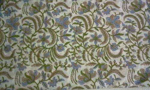 Print Netted Fabric