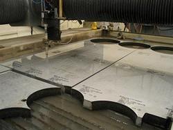 Profile Plate Cutting Service