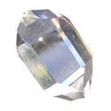 Mounted piezoelectric crystals