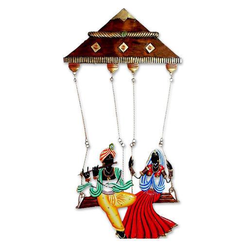 Radha Krishna In Swing