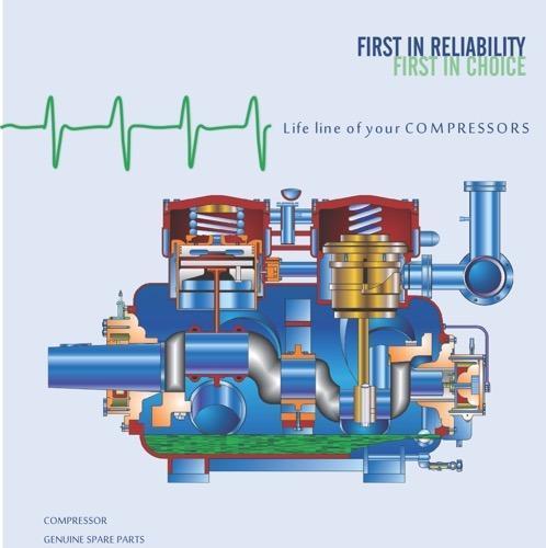 Refrigeration Compressors Spares