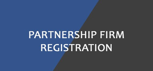 Registration Of A Partnership Firm