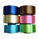 Textured filament yarn of polyester