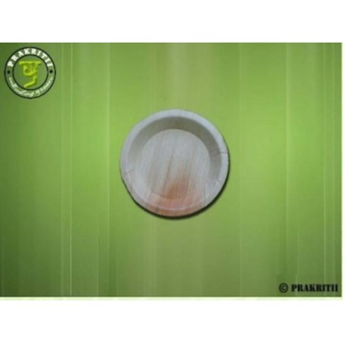 Round Areca Plate