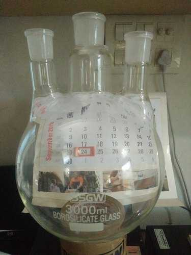 Round Bottom Flask Three Neck