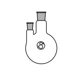 Round Bottom Two Neck Flasks