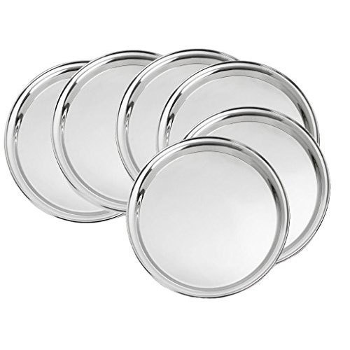 Round Stainless Steel Plates