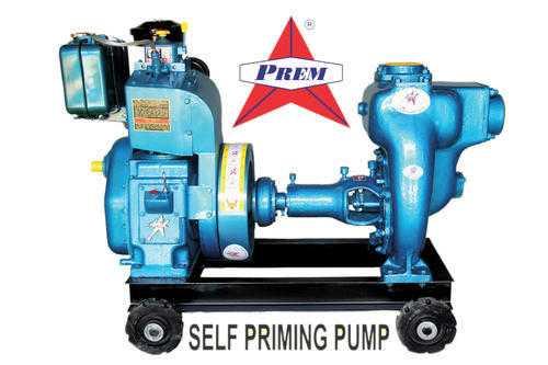 Self Priming Monoset Pump