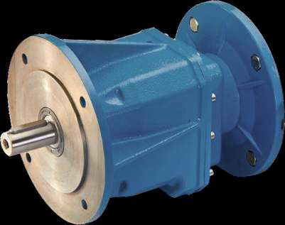 Shaft Helical Geared Motor