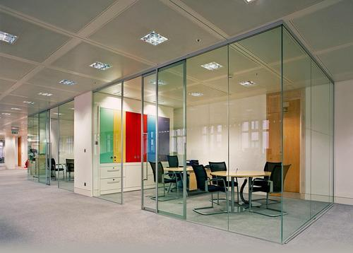 Sliding Glass Partition