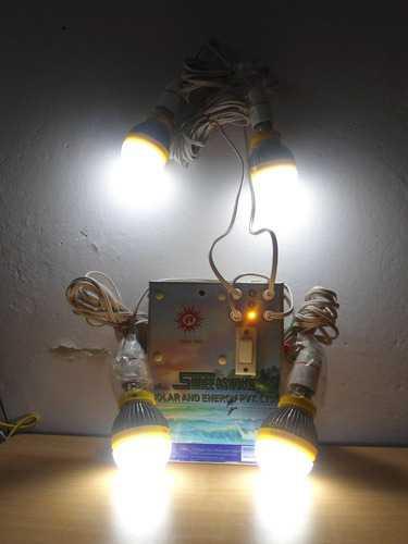 Solar Led Home Lighting Systems
