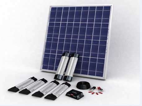 Solar Lightnings Systems
