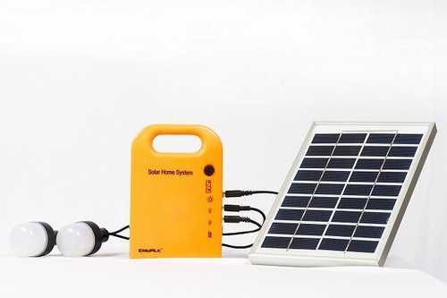 Solar Power Home Lighting System