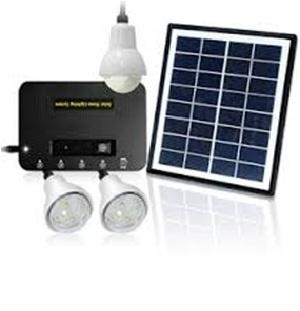 Solar Powered Home Lights
