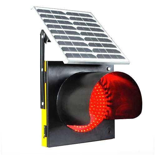 Solar Traffic Signal Light