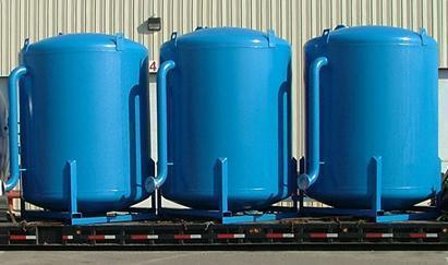 Spiral Chemical Storage Tank