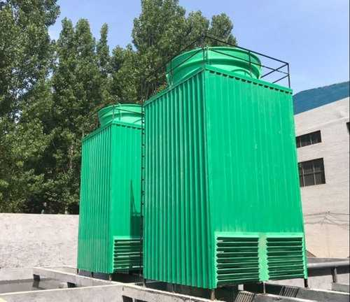 Spray Of The Cooling Tower