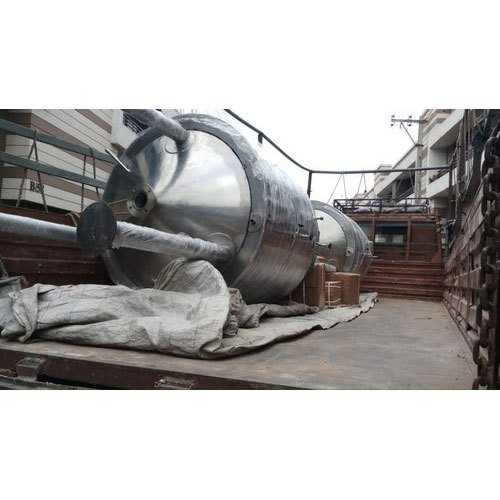 Stainless Steel Chemical Storage Tanks