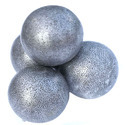 Grinding balls and similar articles for mills, of iron or steel, forged or stamped, but not further worked