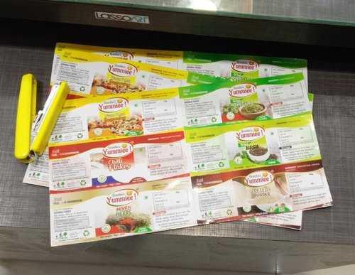 Sticker Label Printing Services