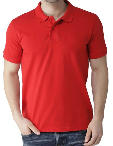 T Shirt With Collar