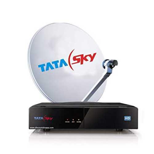 Tata Sky Set Top Box With Dish
