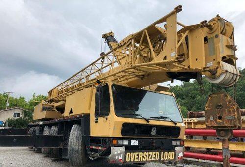 Terrain Cranes Rental Services
