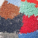 Natural rubber products modified by the incorporation of plastics