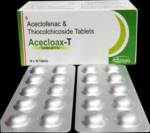 Thiocolchicoside Aceclofenac Tablets