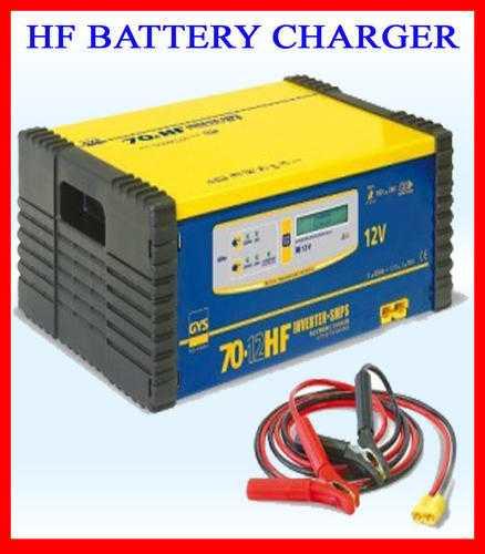 Thyristor Battery Charger