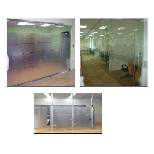 Toughened Glass Partition And Doors