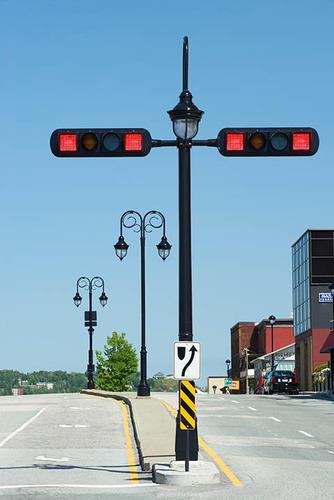 Traffic Lighting Poles