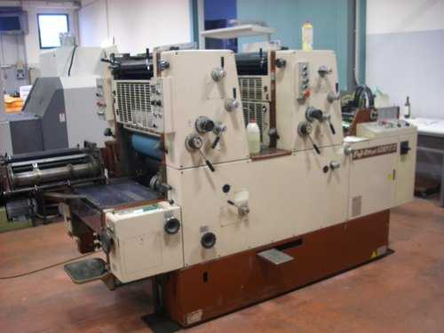 Two Colour Printing Machine
