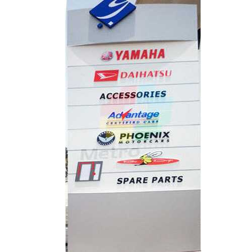 Unipole Sign Boards