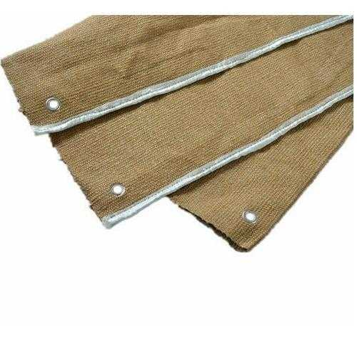 Vermiculite Coated Ceramic Blanket