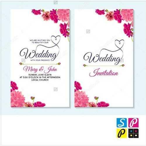 Wedding Card Designing And Printing