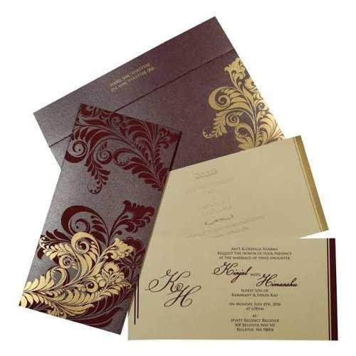 Wedding Card Printing