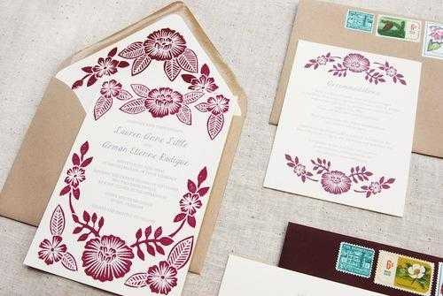 Wedding Invitation Printing Services