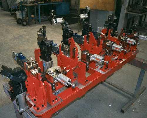 Welding Of Machine Parts