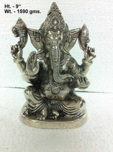 White Ganesha Statue