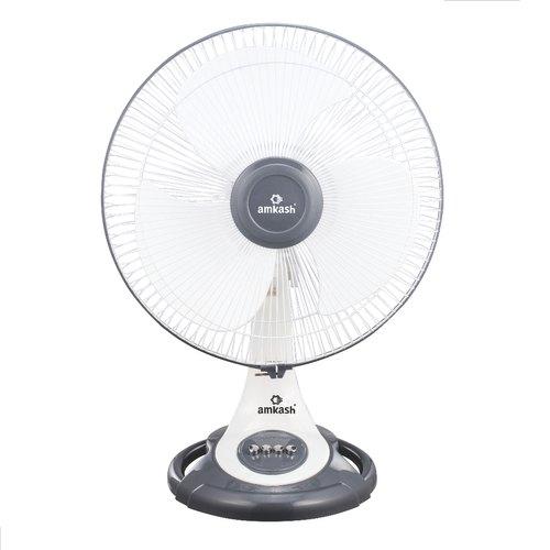 White Table Fan